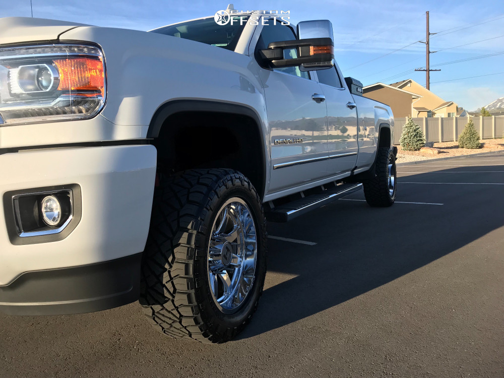 12 2019 Sierra 3500 Hd Gmc Stock Leveling Kit Hostile Alpha Chrome