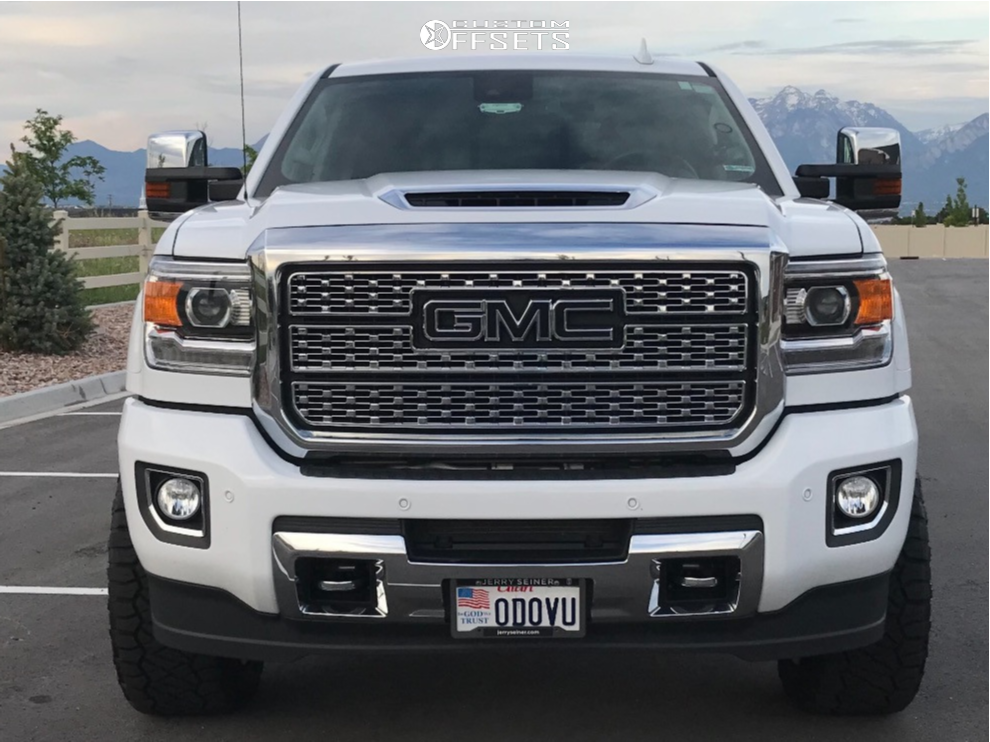 2 2019 Sierra 3500 Hd Gmc Stock Leveling Kit Hostile Alpha Chrome