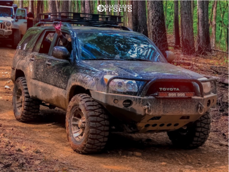 Nitto Mud Grappler 4Runner