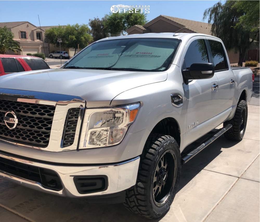 Rt 33 Nissan >> 2017 Nissan Titan Grid Gd02 Rough Country Suspension Lift