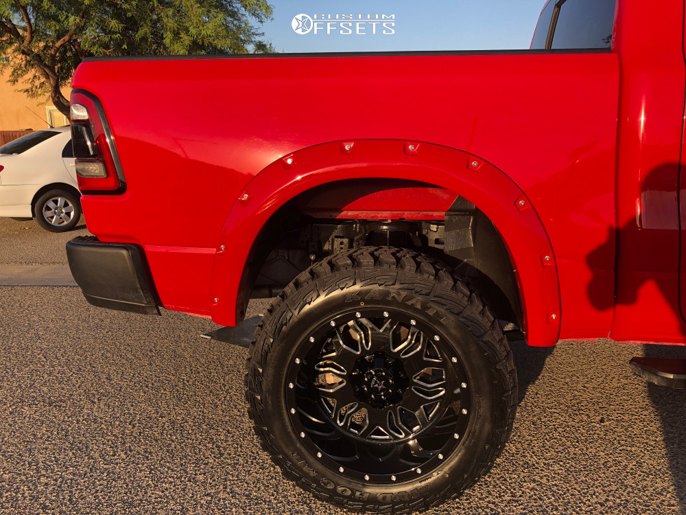 9 2019 1500 Ram Rough Country Suspension Lift 6in Rbp 87r Machined Accents