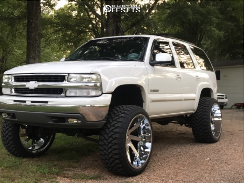 1 2003 Tahoe Chevrolet Rough Country Suspension Lift 6in Arkon Off Road Lincoln Chrome
