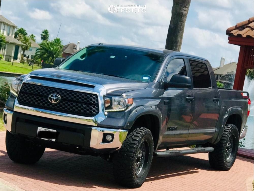 1 2019 Tundra Toyota Readylift Leveling Kit Vision Rocker Gunmetal