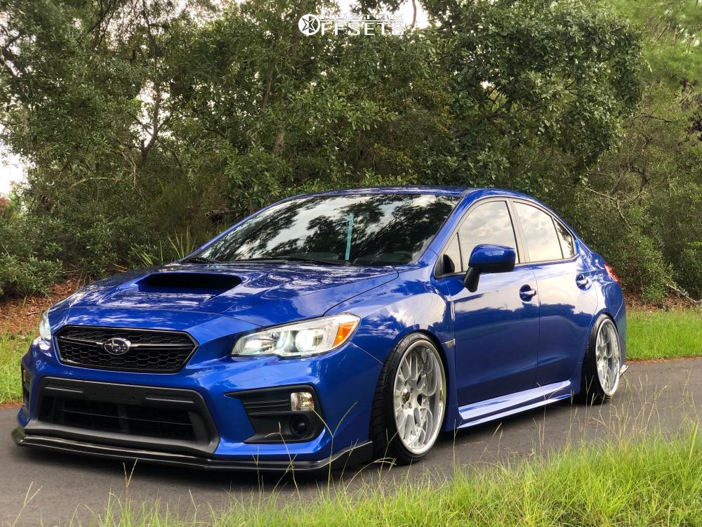 2019 Subaru Wrx Weds Kranze Erm Bc Racing Coilovers   Custom