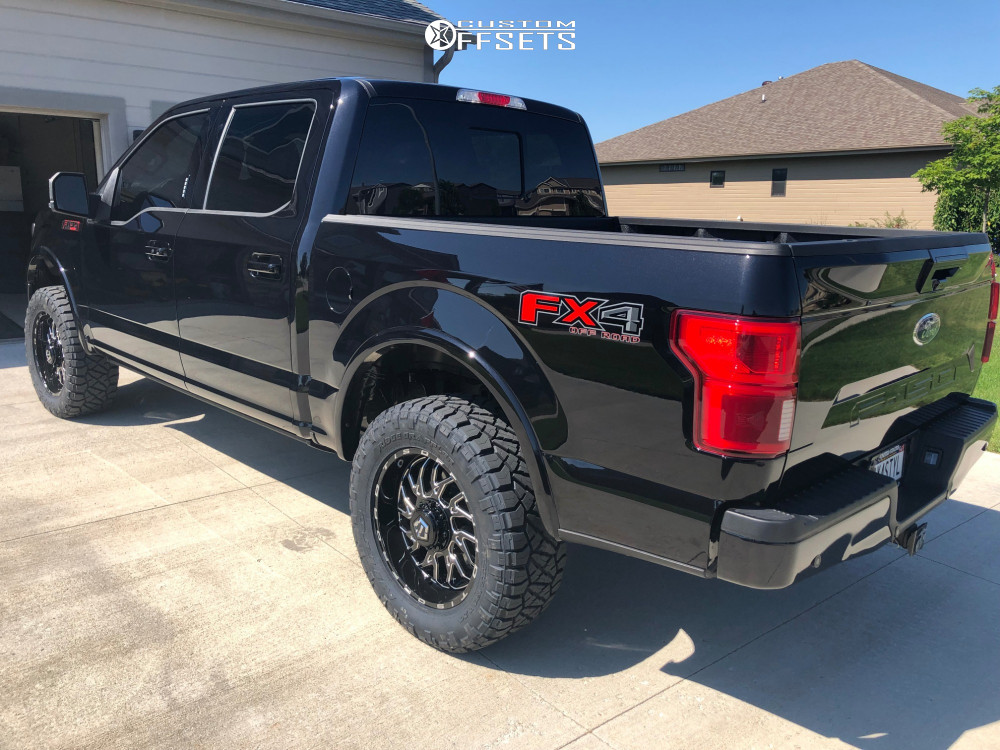 6 2019 F 150 Ford Roush Performance Suspension Lift 25in Tis 544bm Machined Accents