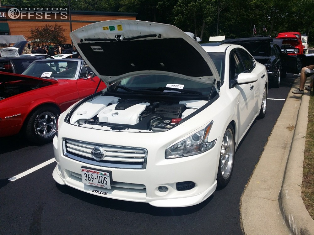 2012 nissan maxima rial nogaro lowered adj coil overs. Black Bedroom Furniture Sets. Home Design Ideas
