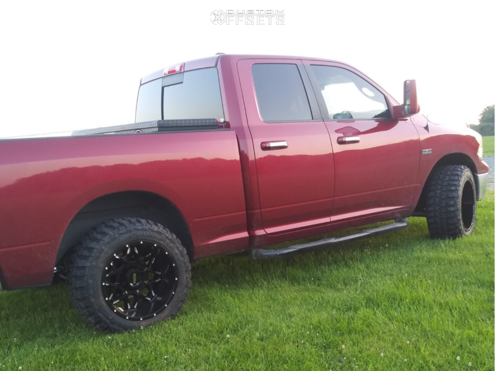 4 2011 1500 Ram Rough Country Leveling Kit Ultra Carnivore Machined Accents