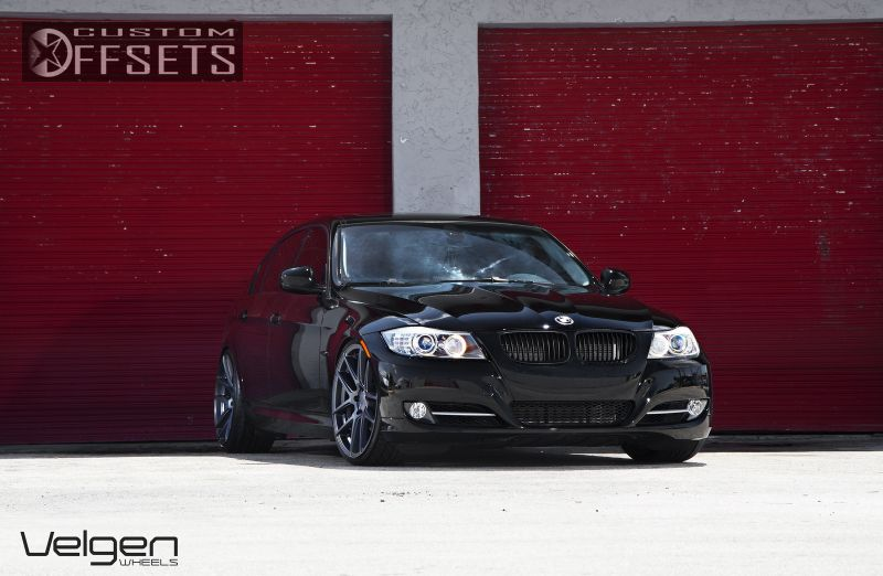 Wheel Offset 2009 Bmw 3 Series Flush Dropped 1 3 Custom Rims