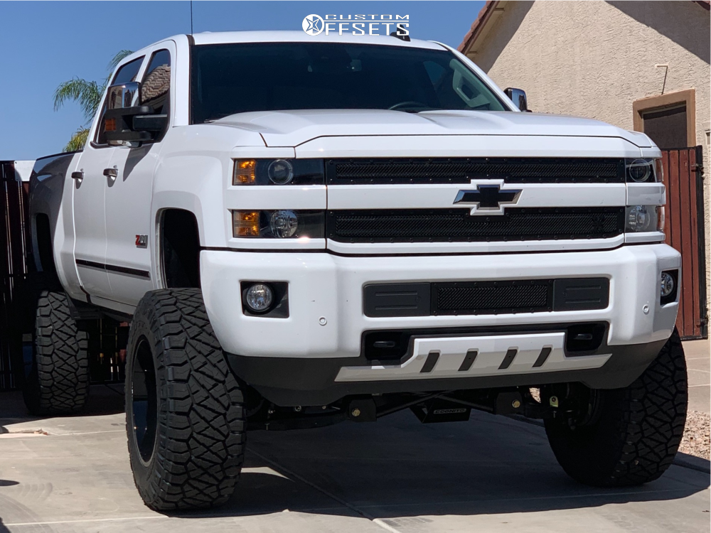 1 2017 Silverado 2500 Hd Chevrolet Cognito Suspension Lift 9in Arkon Off Road Alexander Black