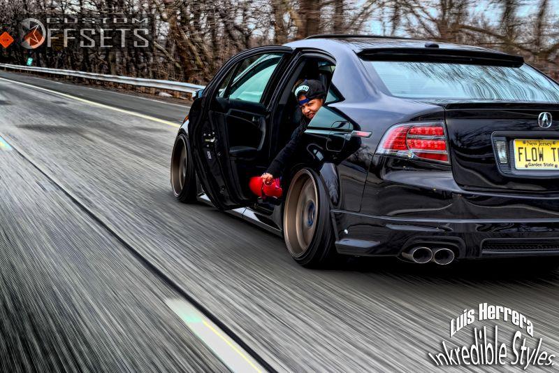 Wheel Offset 2007 Acura Tl Tucked Bagged Custom Rims ...
