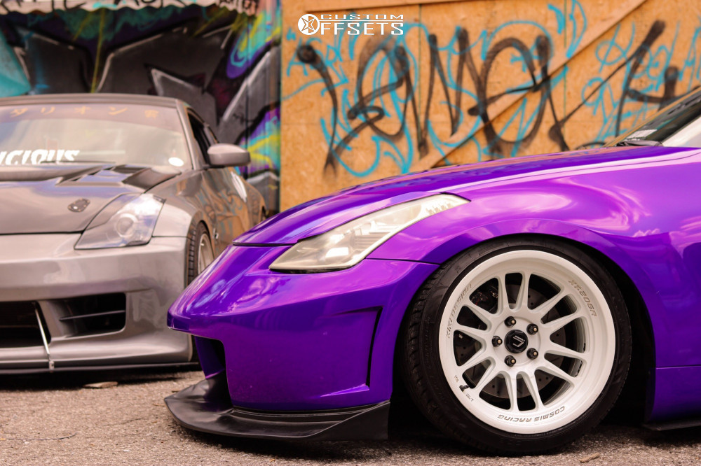 2006 Nissan 350z Cosmis Racing Xt 206r Bc Racing Coilovers