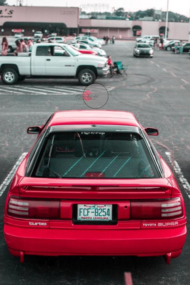 1991 Toyota Supra Enkei Rpf1 Cxracing   Custom Offsets