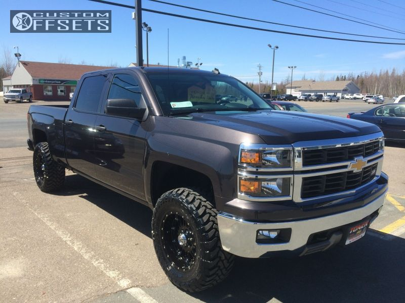 2014 Chevrolet Silverado 1500 Xd Hoss Rough Country Leveling Kit