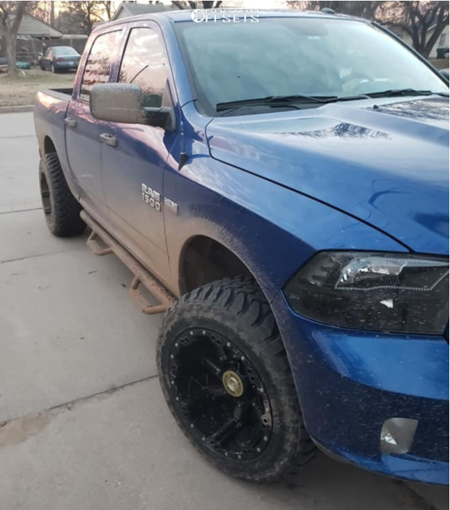 4 2018 1500 Ram Rough Country Suspension Lift 6in Moto Metal Mo979 Black