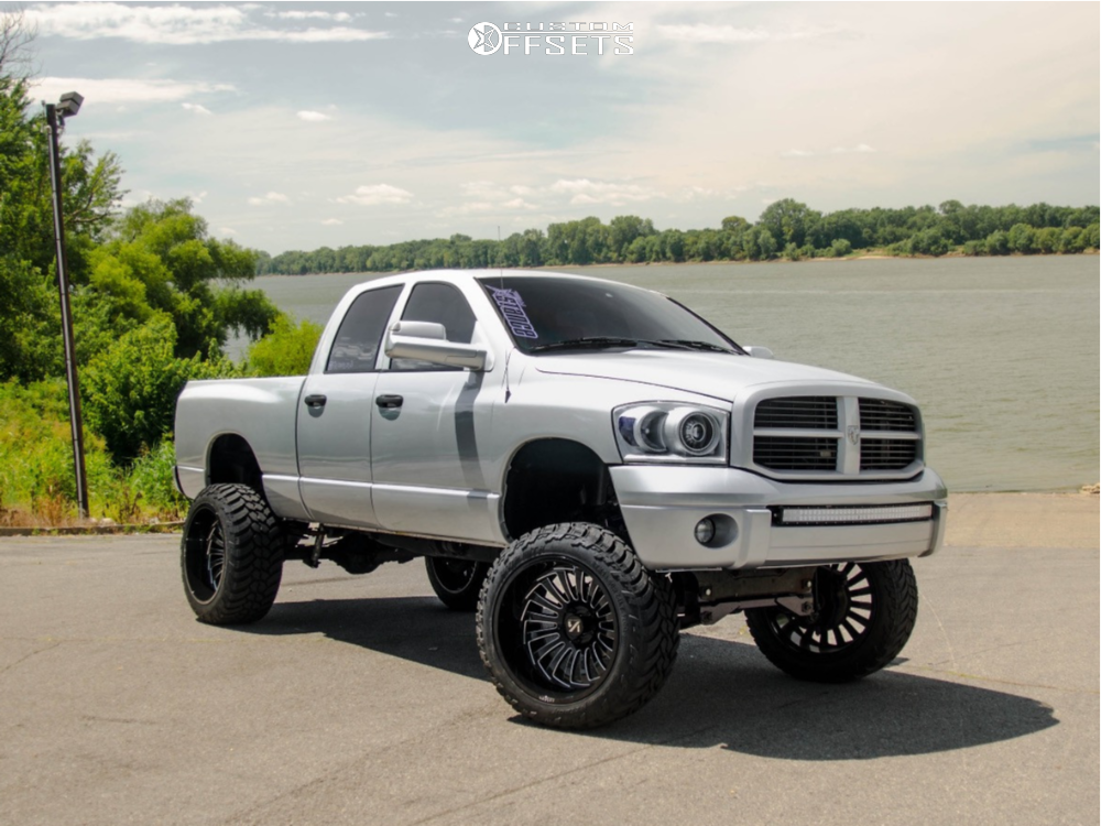 Lifted 2007 Dodge Ram