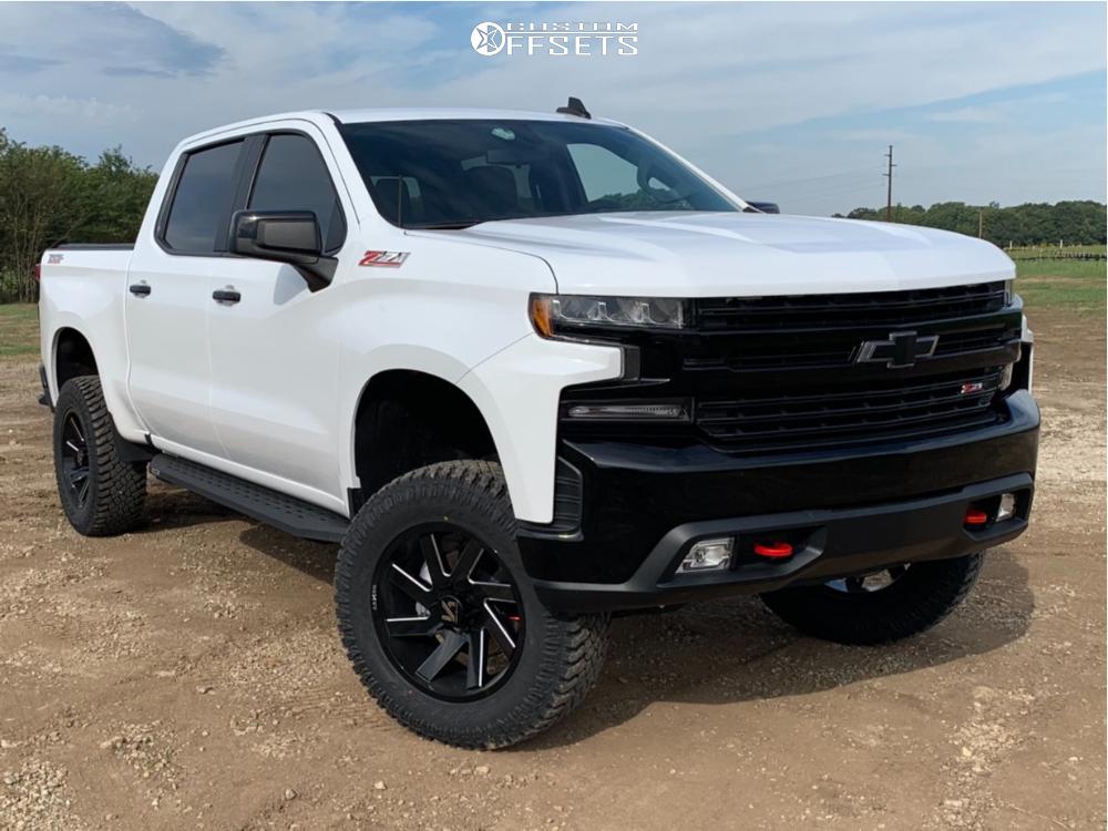 1 2019 Silverado 1500 Chevrolet Bds Suspension Lift 4in Arkon Off Road Lincoln Black