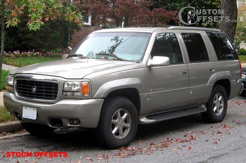 Wheel Offset 1999 2000 Cadillac Escalade Tucked Stock Oem