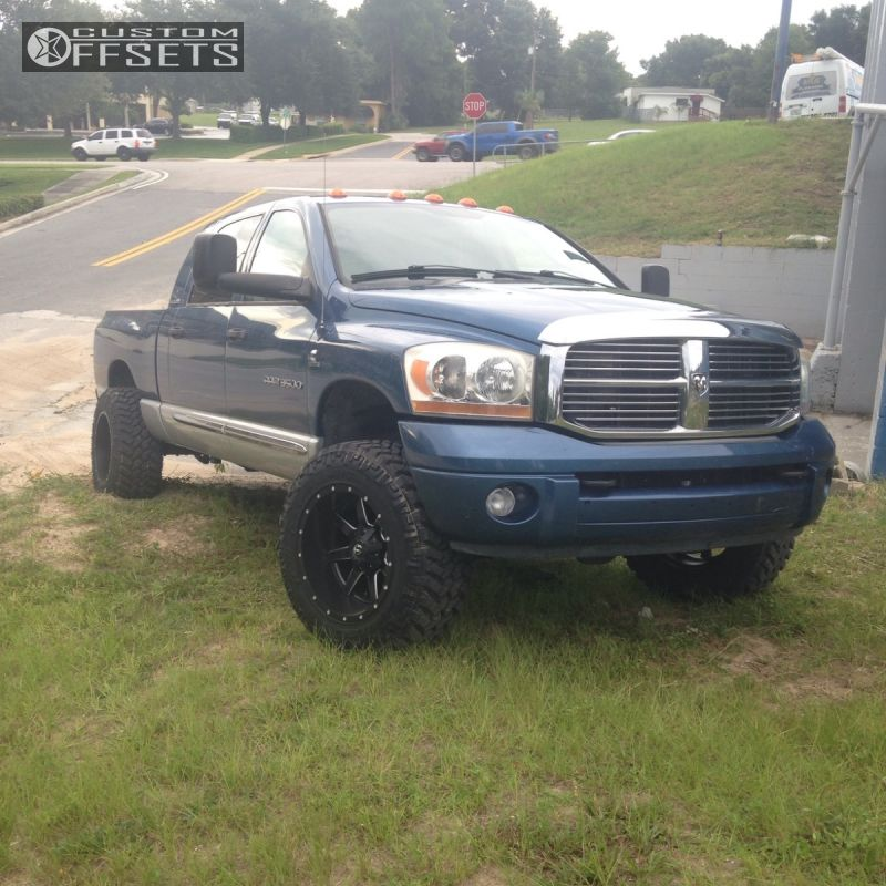 2006 dodge ram 3500 fuel maverick rough country leveling kit. Black Bedroom Furniture Sets. Home Design Ideas