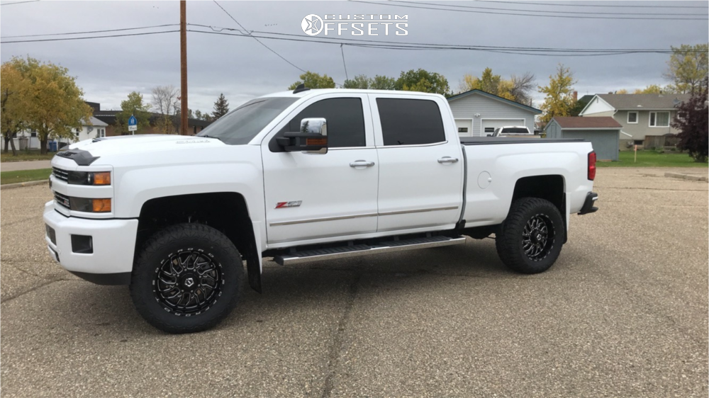 3 2019 Silverado 3500 Hd Chevrolet Rough Country Suspension Lift 35in Tis 544bm Machined Black