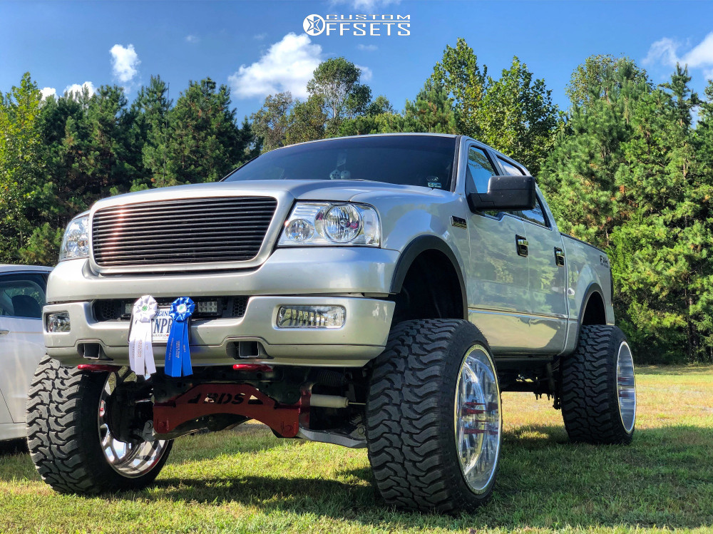 1 2005 F 150 Ford Bds Suspension Lift 6in Body 3in Tis Forged Custom Polished