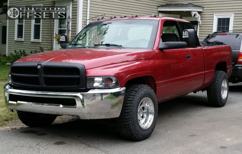 1 1999 Ram 2500 Dodge Stock Ion Alloy Style 171 Polished Super Aggressive 3