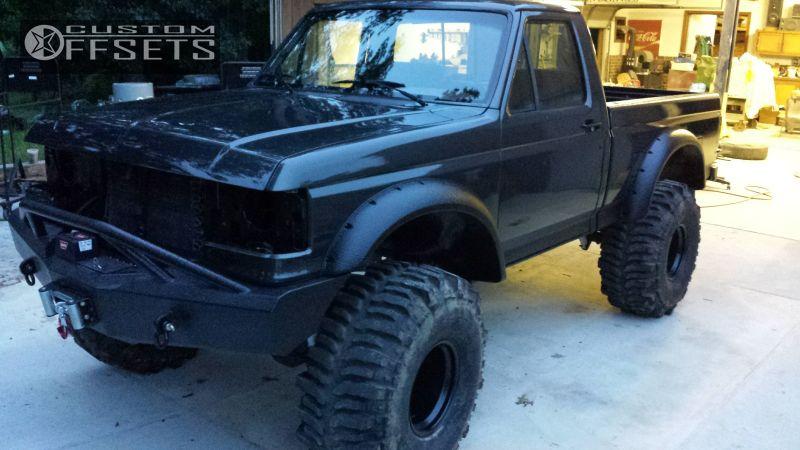 7 1987 f 150 ford suspension lift 9 black rock 997 type 8 black super aggressive
