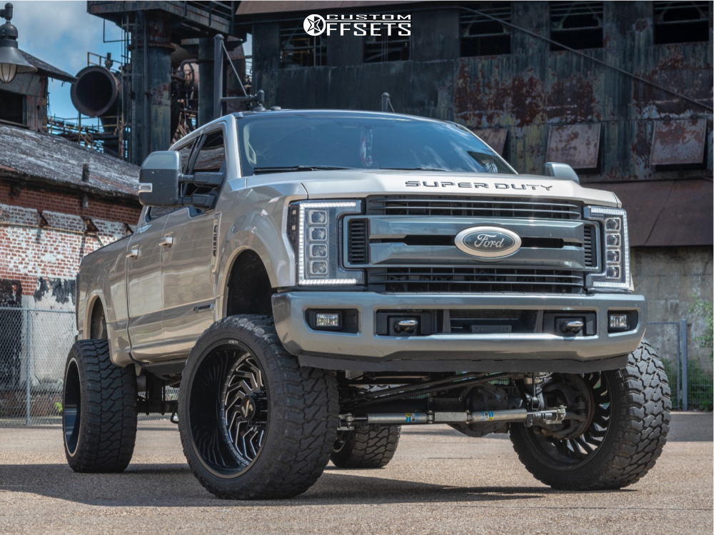 1 2017 F 250 Super Duty Ford Zone Suspension Lift 6in Arkon Off Road Crown Series Victory Black