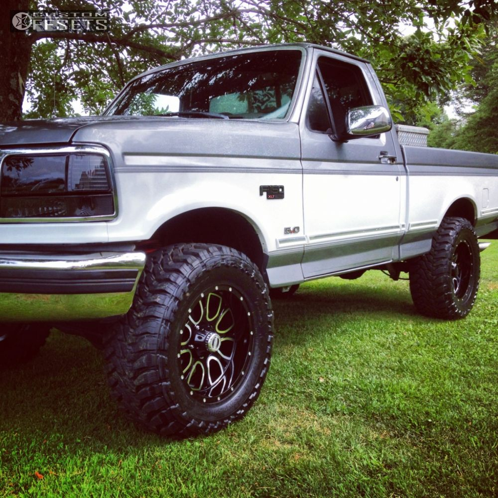 Leveling Kit For Ford F150: 1995 Ford F 150 Helo 879 Leveling Kit