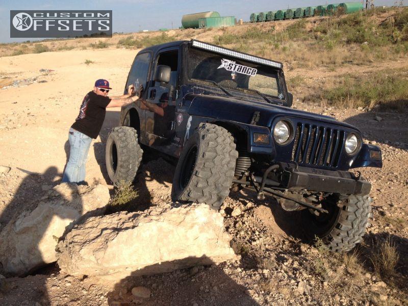 10 2005 Wrangler Jeep Suspension Lift 3 Pro Comp 1911 Black Super Aggressive 3