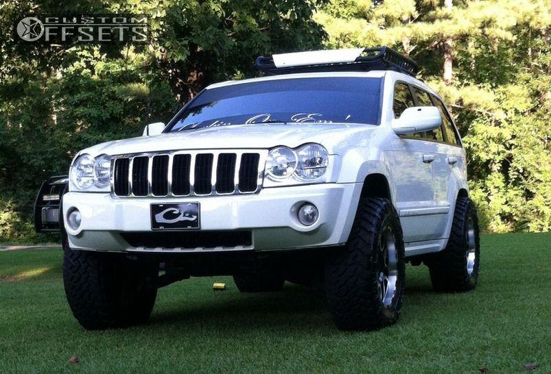 1 2007 Grand Cherokee Jeep Suspension Lift 3 Ion Alloy 179 Machined Accents Super Aggressive 3