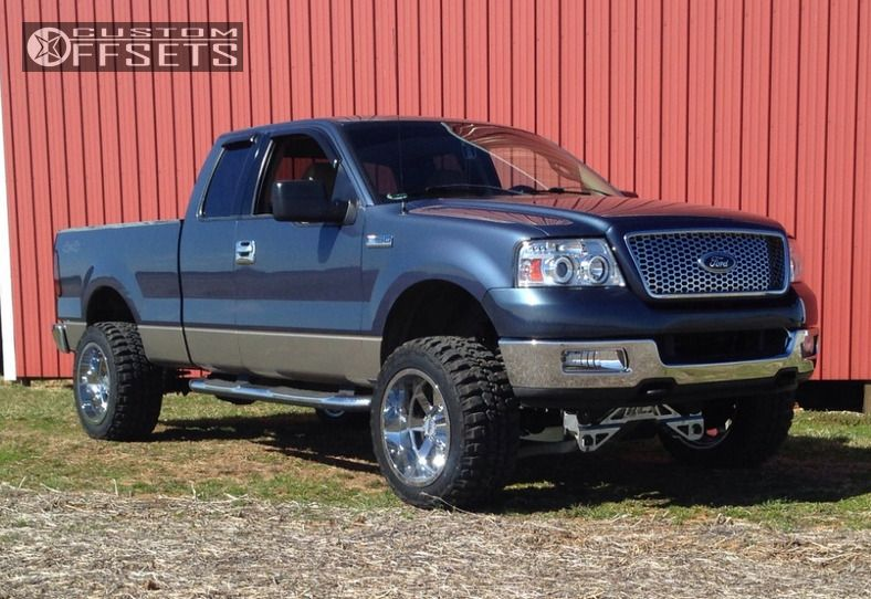1 2004 F 150 Ford Suspension Lift 4 Moto Metal Mo962 Chrome Super Aggressive 3