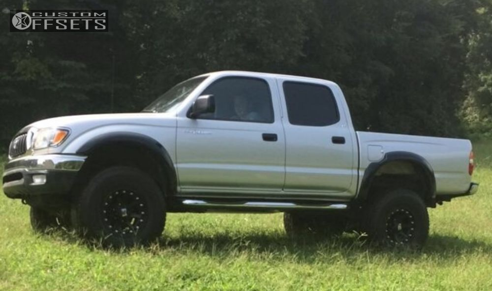 how to lift a tacoma to change tires