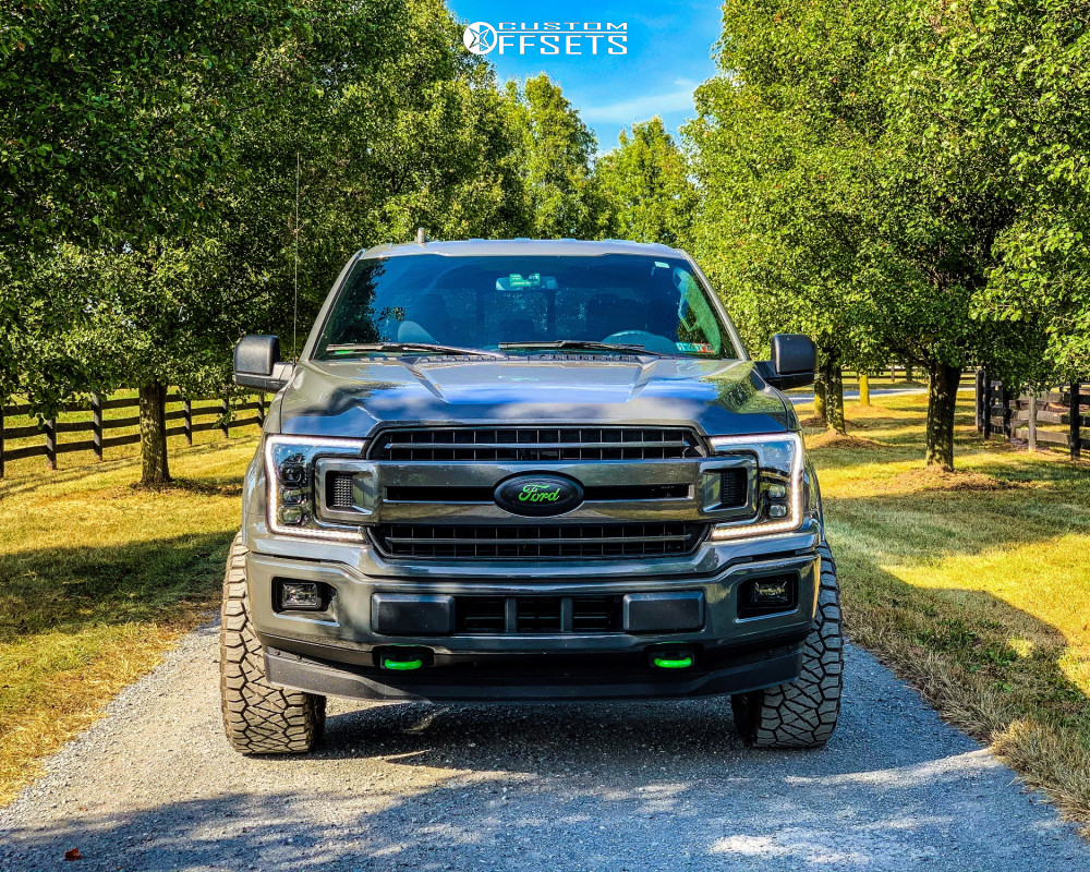 2 2018 F 150 Ford Rough Country Leveling Kit Moto Metal Mo970 Black