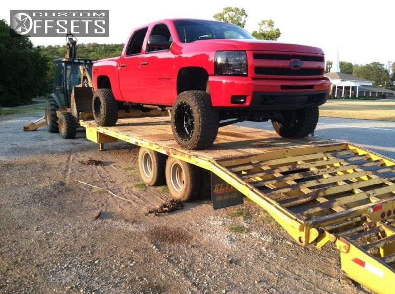 1 2009 Silverado 1500 Chevrolet Suspension Lift 6 Moto Metal 962 Black Gunmetal Super Aggressive 3