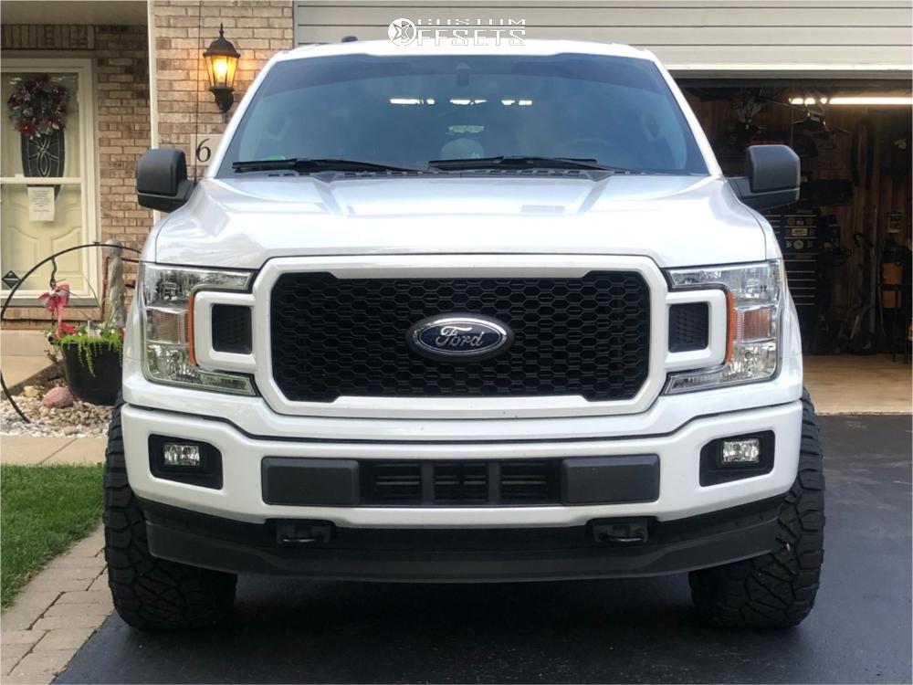2 2019 F 150 Ford Motofab Leveling Kit Hostile Sprocket Black