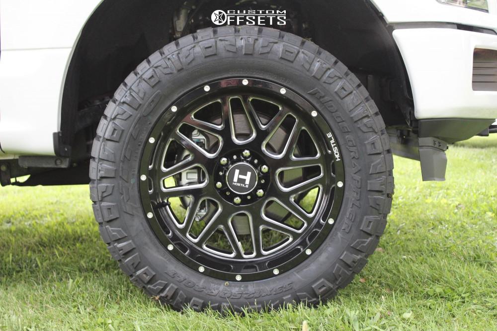 7 2019 F 150 Ford Motofab Leveling Kit Hostile Sprocket Black