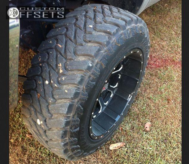 5 2013 Silverado 1500 Chevrolet Suspension Lift 75 Xd Bombs Machined Accents Super Aggressive 3 5