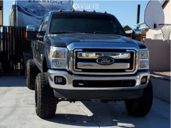 2 2012 F 250 Super Duty Ford Bds Suspension Lift 8in American Offroad Renegade Machined Black