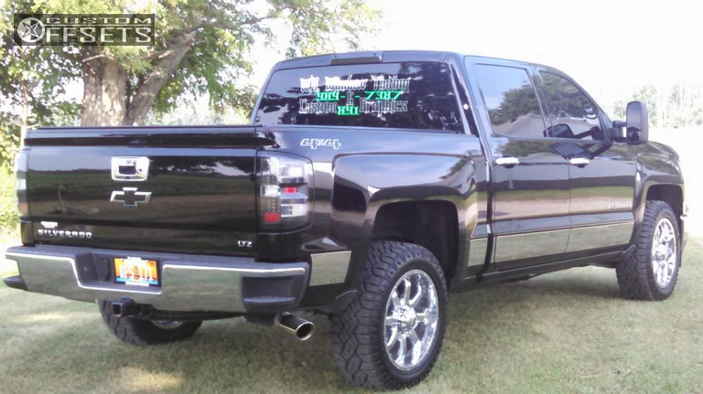 2014 Chevrolet Silverado 1500 Raceline Assault Custom