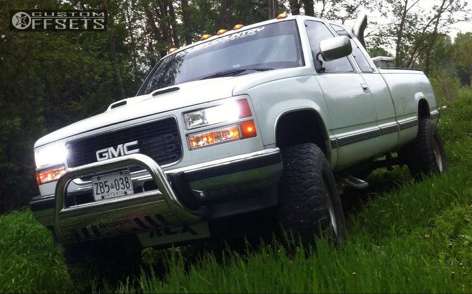 1 1991 K1500 Gmc Suspension Lift 6 Unique Series 71 Chrome Slightly Aggressive