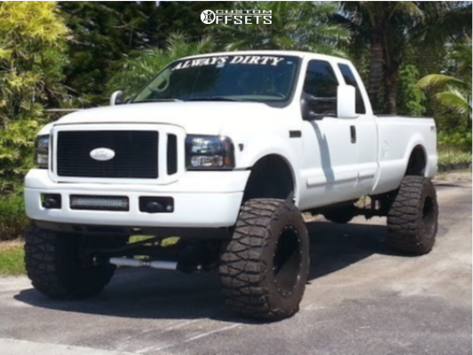 1 2001 F 250 Super Duty Ford Suspension Lift 6in Pro Comp 1069 Polished