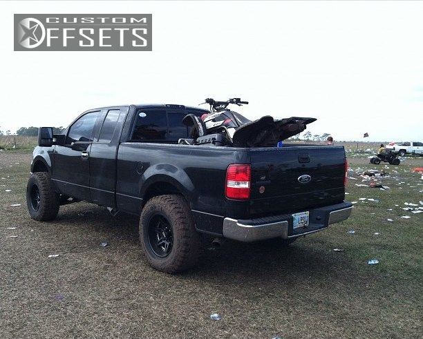 6 2004 F 150 Ford Suspension Lift 6 Motometal 961 Black Gunmetal Super Aggressive 3