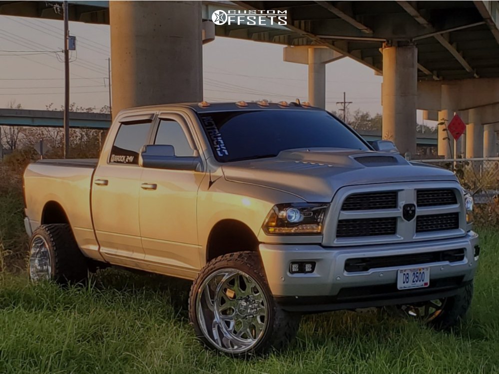 1 2017 Ram 2500 Dodge Stock Air Suspension American Force Trax Ss Polished