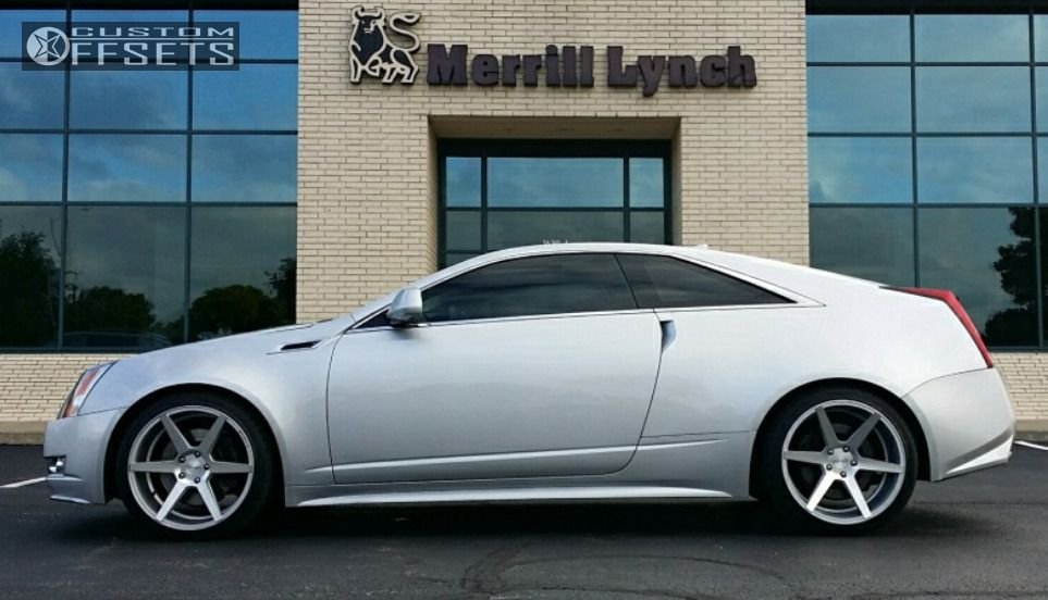 2011 Cadillac Cts Stance Sc 6ix Eibach Lowered On Springs