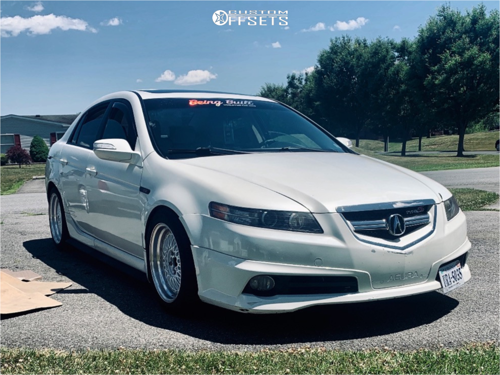 2008 Acura Tl Mst Mt13 D2 Racing Custom Offsets