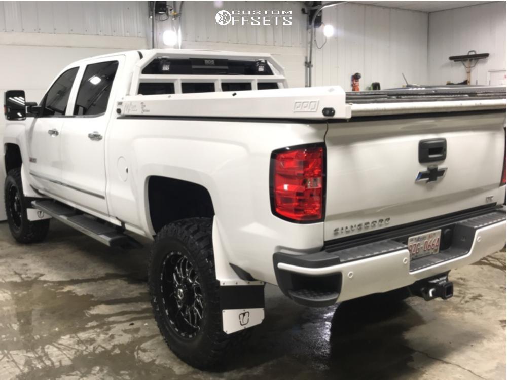 6 2019 Silverado 3500 Hd Chevrolet Zone Suspension Lift 5in Tis 544bm Machined Black