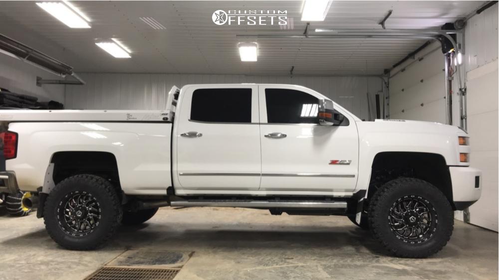 7 2019 Silverado 3500 Hd Chevrolet Zone Suspension Lift 5in Tis 544bm Machined Black