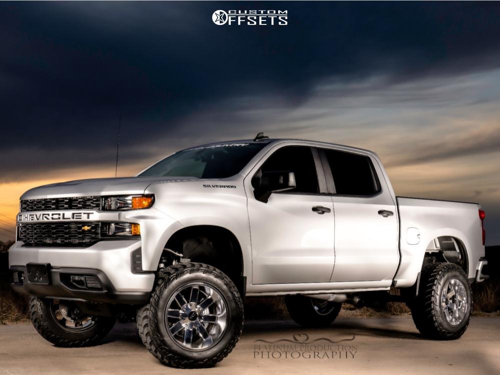 3 2020 Silverado 1500 Chevrolet Rough Country Suspension Lift 6in Alloy Ion 141 Chrome