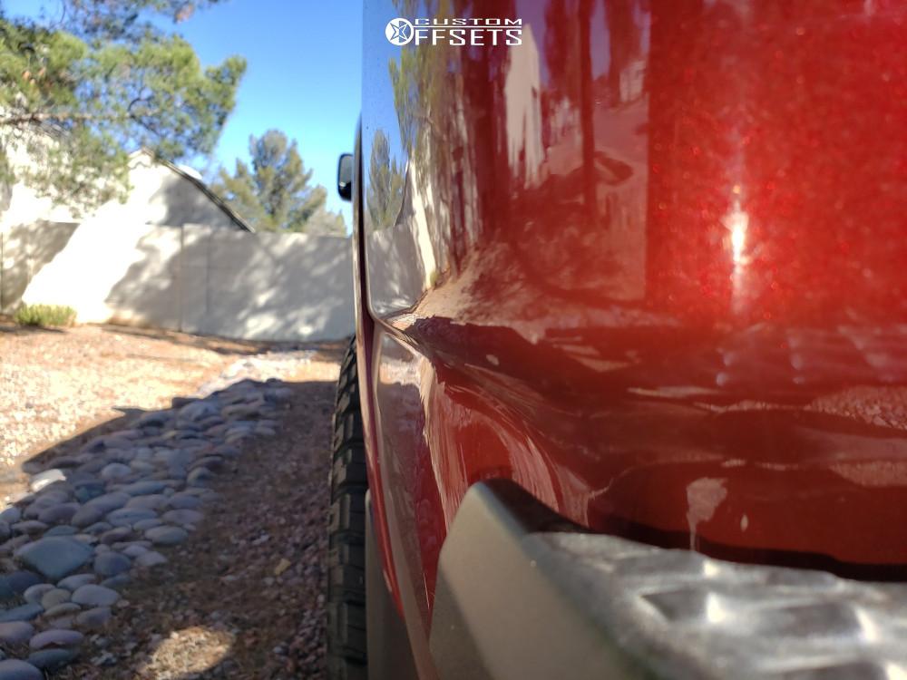 12 2016 Titan Xd Nissan Supreme Leveling Kit Panther Offroad 580 Machined Black