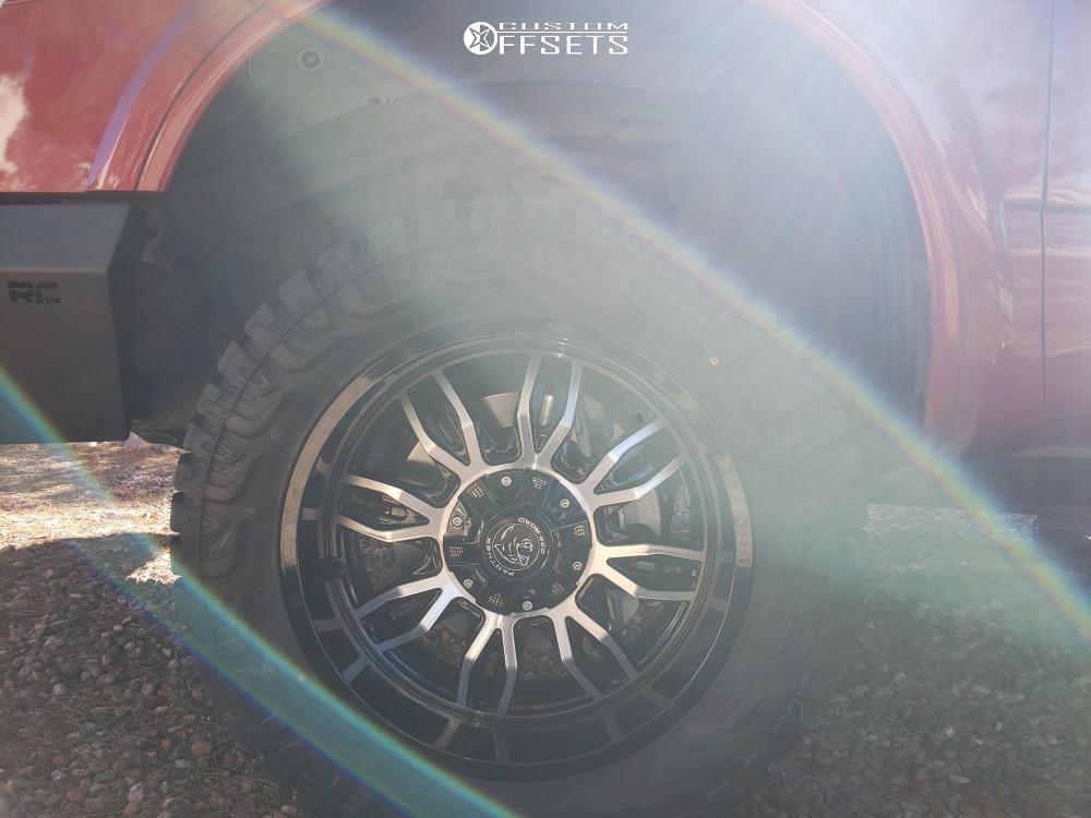 8 2016 Titan Xd Nissan Supreme Leveling Kit Panther Offroad 580 Machined Black